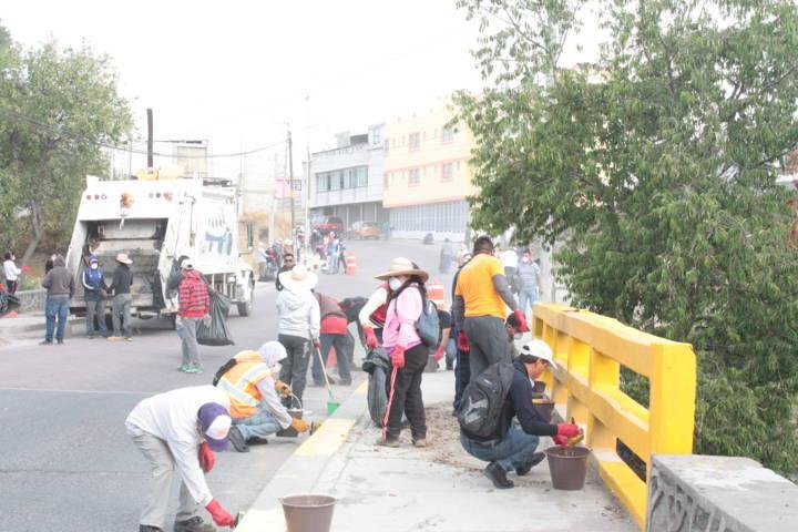 Ayuntamiento de San Pablo del Monte lleva a cabo la Séptima Jornada de Limpieza