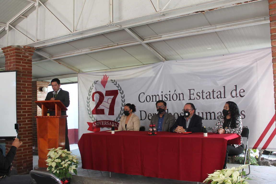 Certifica CEDH al instituto tecnológico superior de Tlaxco como Escuela Promotora De Derechos Humanos