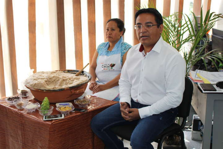 Presentan 3ra Feria del Cacao en Zacatelco