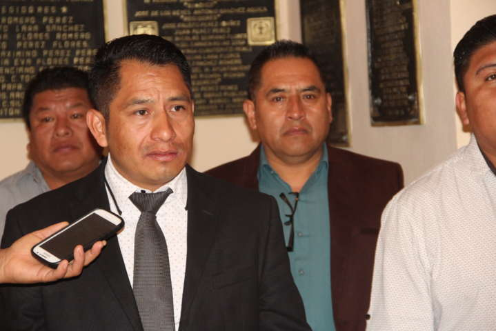 Alcalde coadyuvara con la seguridad de pobladores y empleados del municipio