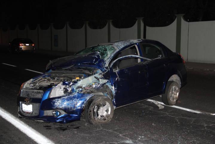 Accidente deja una mujer gravemente herida en la autopista