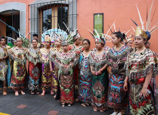 Huamantla Sede del concurso estatal de danza y  baile de las EMSAD