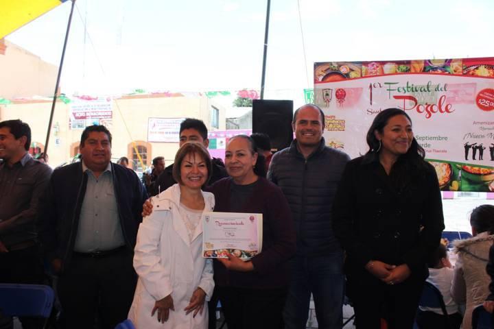 Exitoso segundo Gran Festival de Gastronomía en Santa Cruz Tlaxcala.