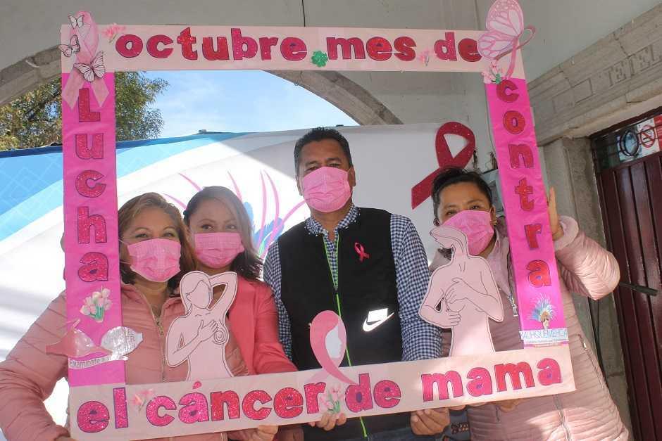 Conmemora Yauhquemehcan día internacional de la lucha contra el Cáncer De Mama