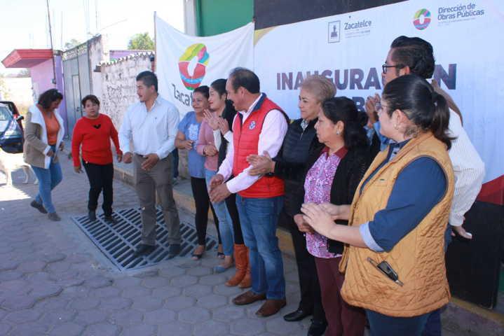 TOA entrega 4 obras de servicios básicos en tres secciones del municipio
