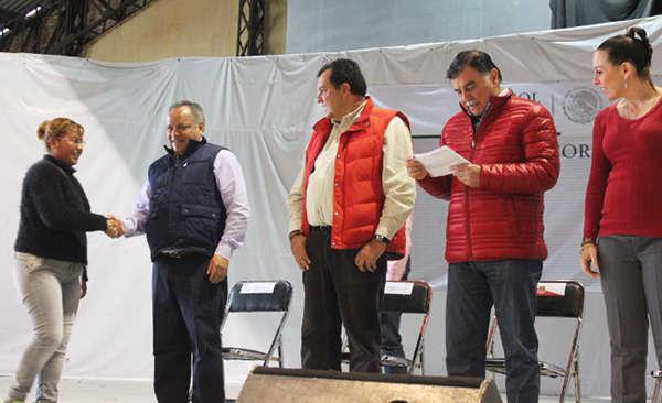 Realizan incorporación de beneficiarios de Huamantla a PROSPERA