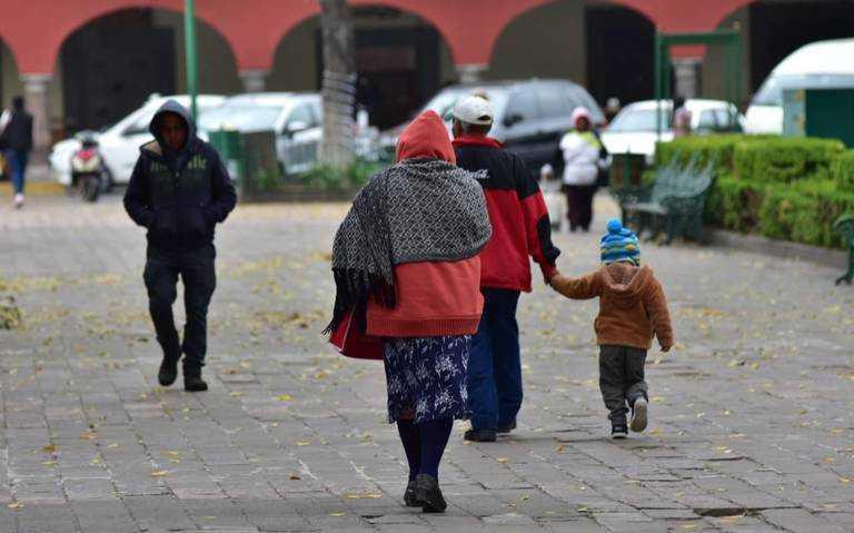Hoy se prevé ambiente frío y lluvias moderadas en Tlaxcala