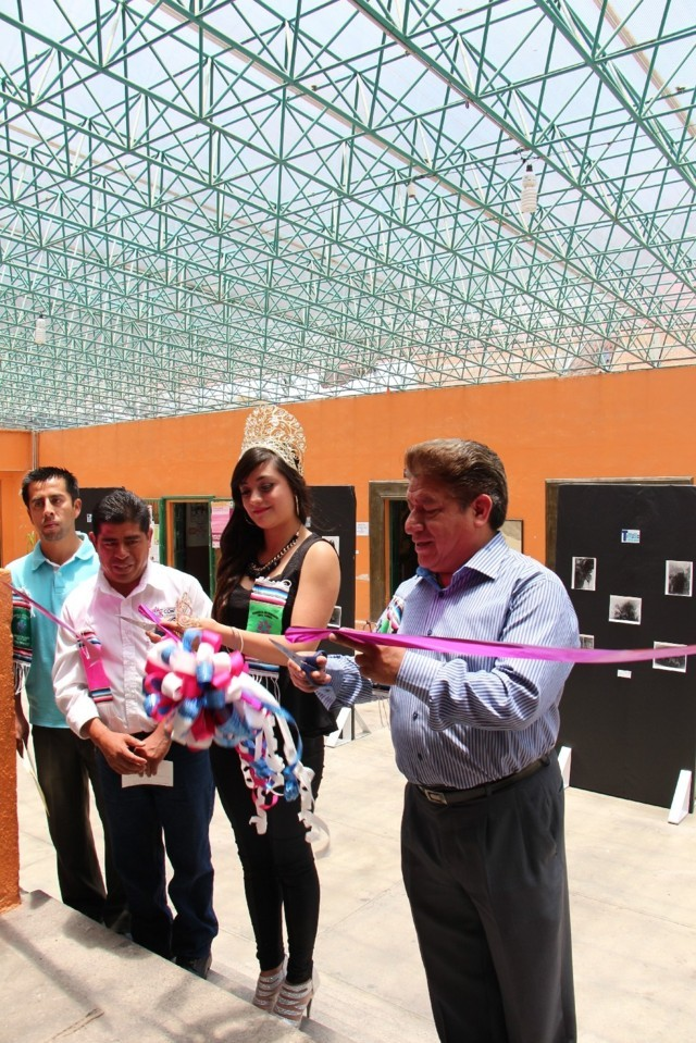 Inauguración de exposición, artes populares y artísticas en la Feria Nacional del Sarape