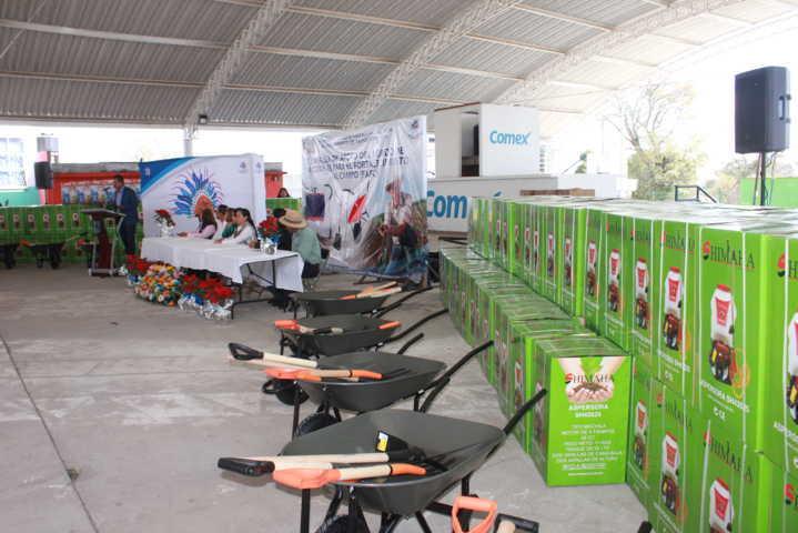 Con estas herramientas impulsamos el desarrollo rural: Villarreal Chairez