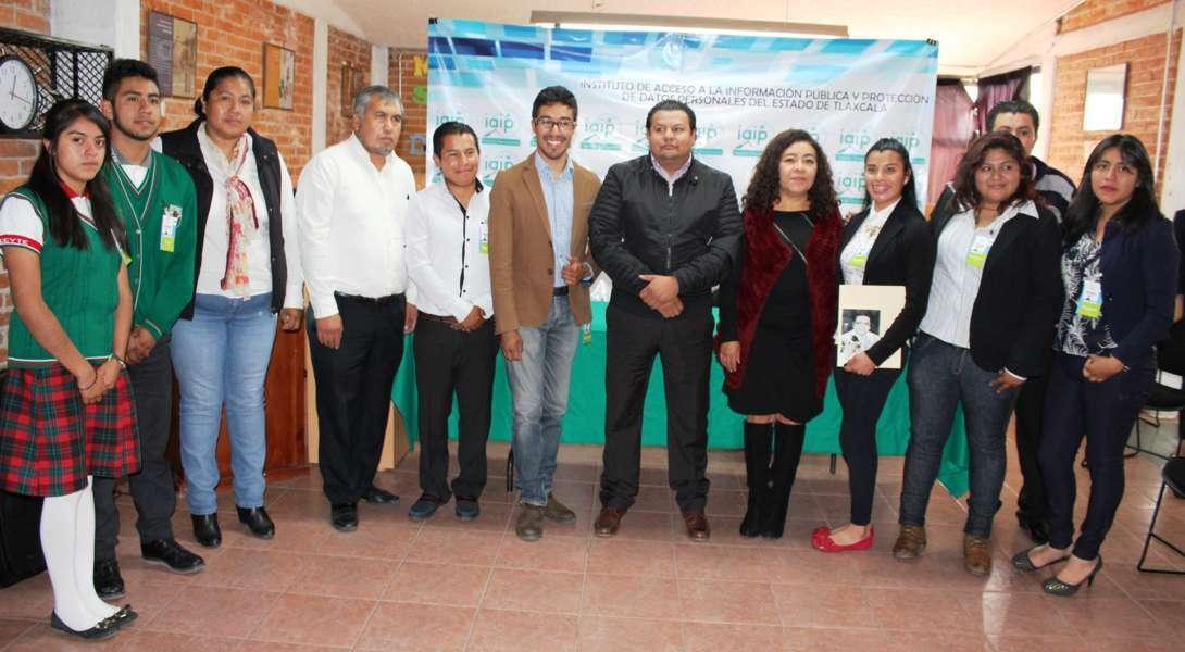 Un éxito fue la semifinal del concurso de oratoria Por un Tlaxcala Transparente