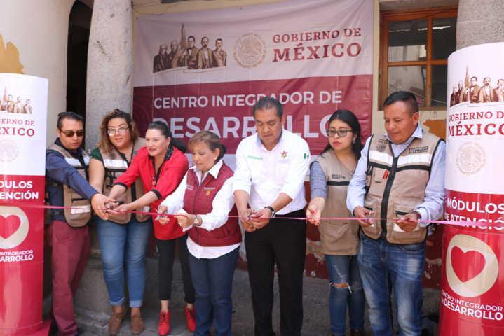 Domínguez Rugerio abre las puertas del Centro Integrador de Desarrollo