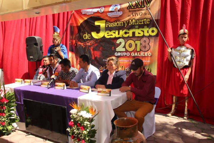 Pasión y Muerte de Jesucristo 2018 llega del 25 al 30 de marzo a Huacaltzingo