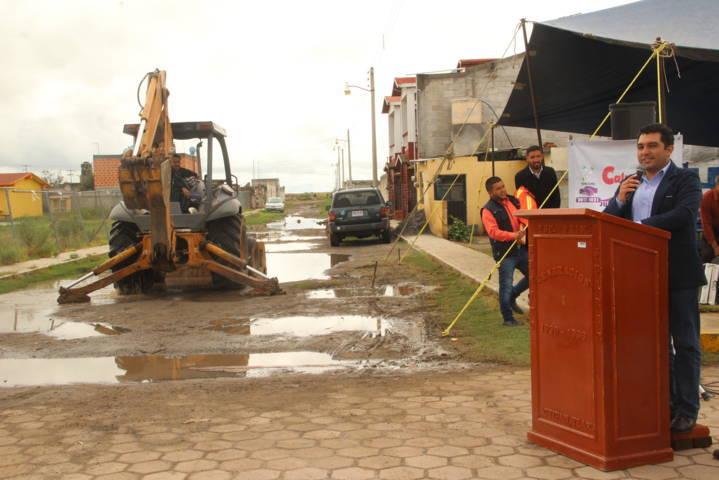 Con más obras mejoramos la calidad de vida de los pobladores: alcalde