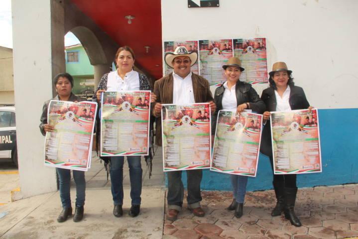 Juárez Cajica inicia festividades del mes patrio con la fijación del Bando Solemne