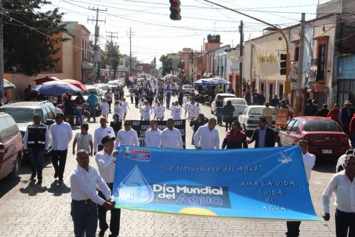 Alcalde encabezó celebración del Día Mundial del Agua