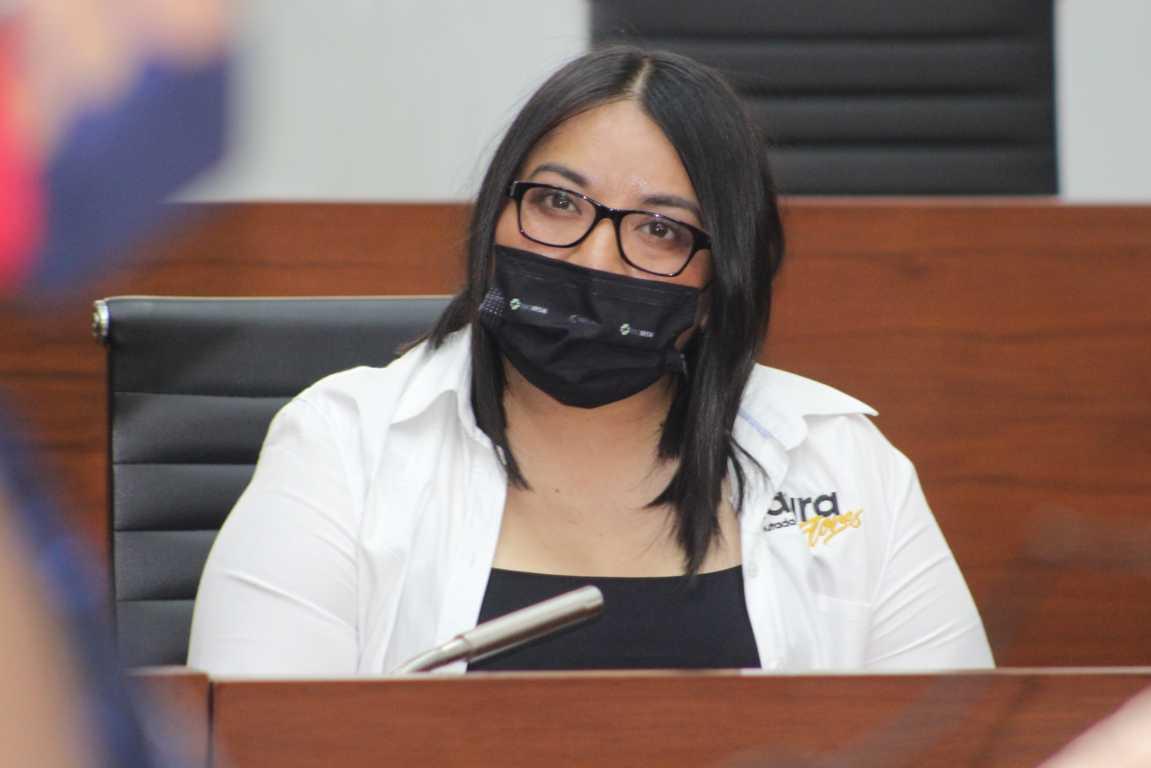 Concede Congreso licencia temporal a la Diputada Laura Flores