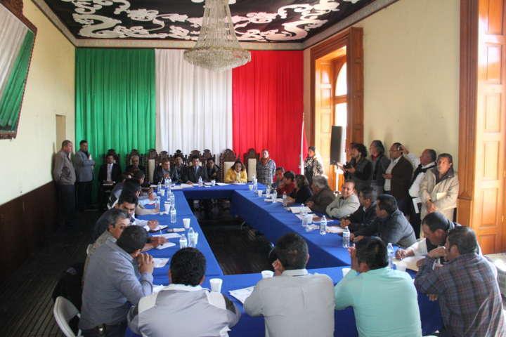 Asignan Comisiones en Calpulalpan