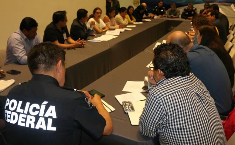 PGR en Tlaxcala sostiene reunión de coordinación sobre delitos carreteros