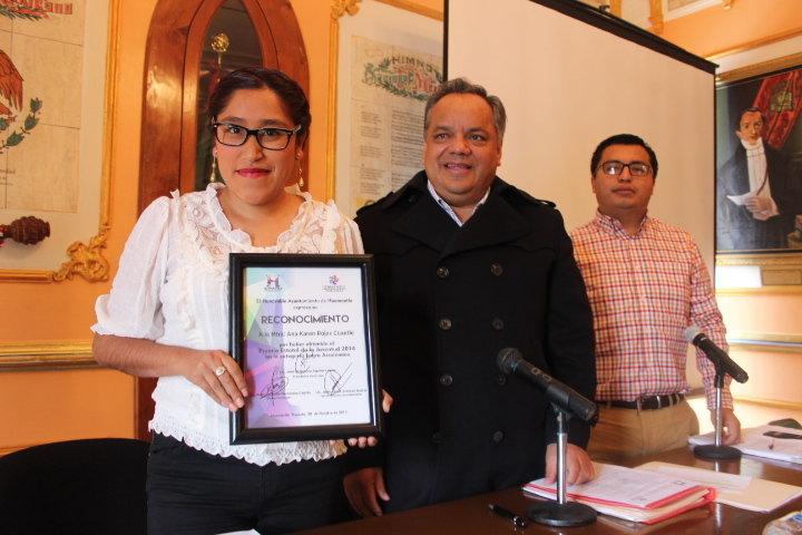 Hacer de la educación en nuestro municipio el motor principal de desarrollo: Alejandro Aguilar López