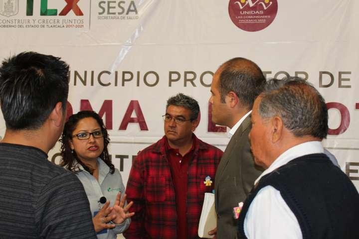 Rindió protesta comité de Salud en Santa Cruz Tlaxcala