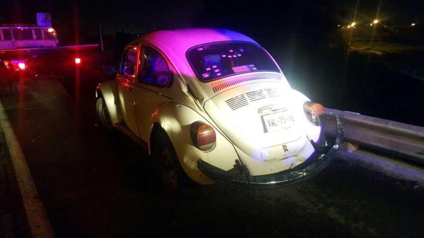 Recupera Policía Municipal de Chiautempan Volkswagen robado