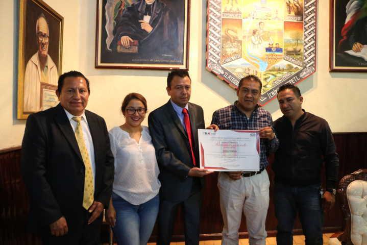 La SEGOB reconoce a Chiautempan por obtener el 100% de evaluación municipal