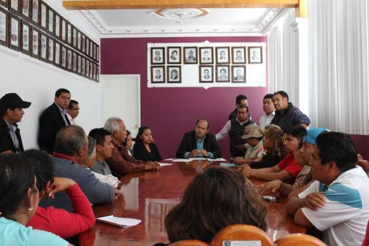 Ayuntamiento de Santa Cruz Tlaxcala reordenará el comercio del centro