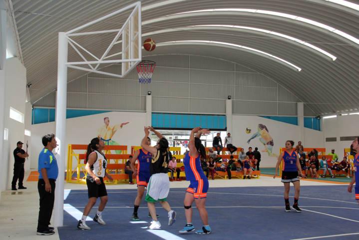 Realiza IMM de Texoloc torneo de basquetbol