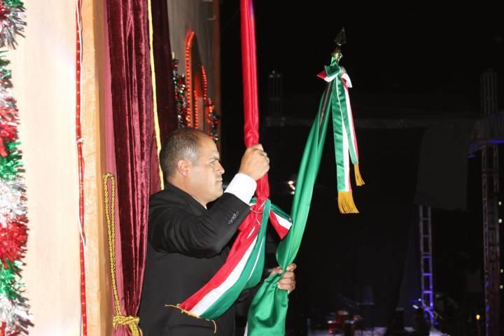 Da alcalde Miguel Ángel Sanabria Chávez Grito de Independencia