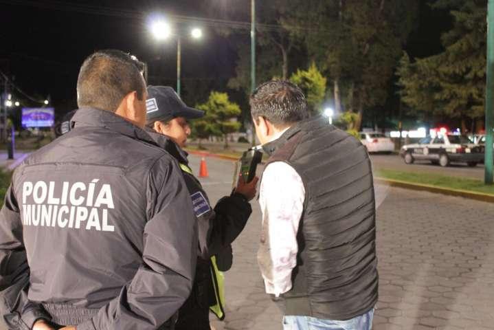 Permanentes los operativos del alcoholímetro en Ixtacuixtla