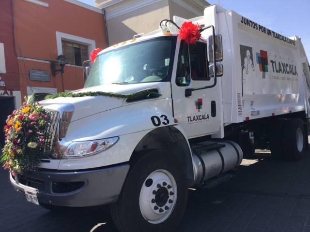 Reestablece comuna capitalina 32 rutas de recolección de basura