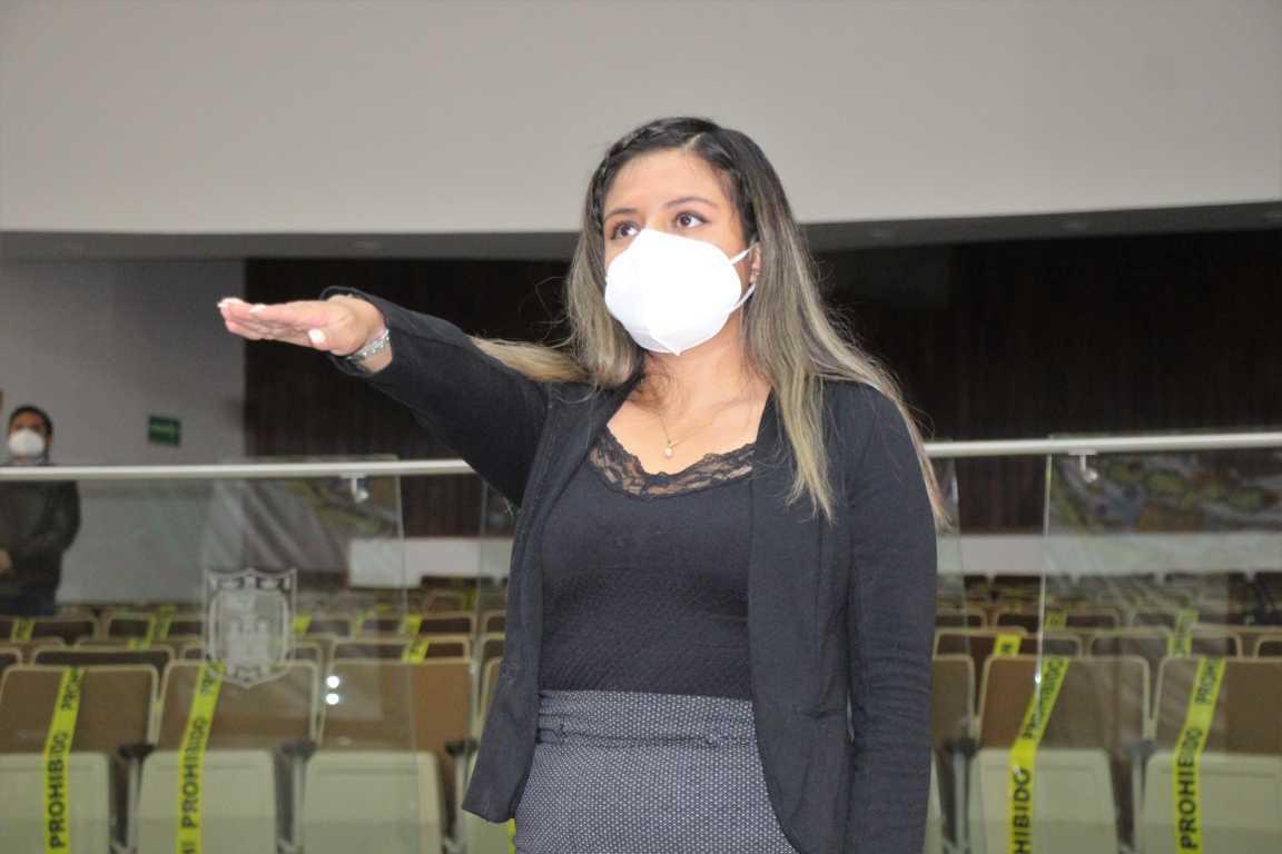 Toma protesta Linda Cisneros como Diputada Propietaria del Congreso