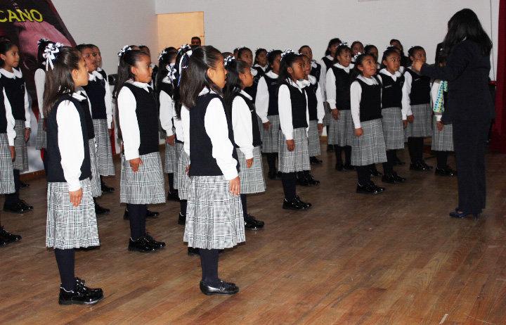 Huamantla sede de la edición  33 del concurso de interpretación del Himno Nacional