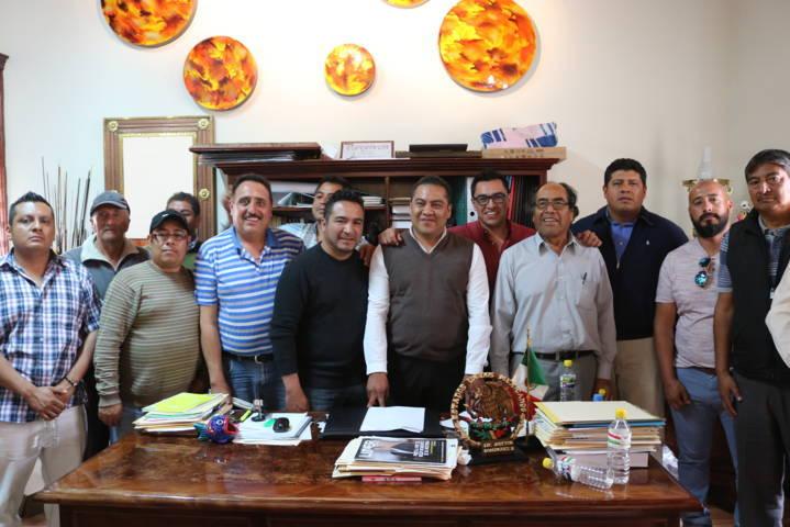 Interviene Ayuntamiento de Chiautempan ante conflicto de transporte público