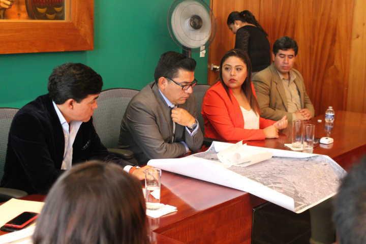 Atiende Congreso a pobladores inconformes de la Magdalena Tlaltelulco