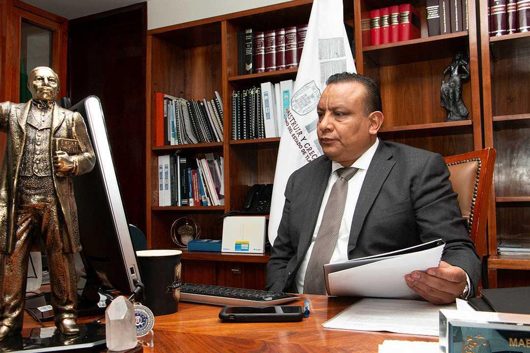 Firma PGJE convenio de colaboración con la fiscalía especializada en delitos electorales