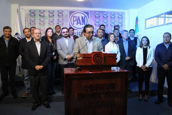 Respalda PAN local el Frente Ciudadano