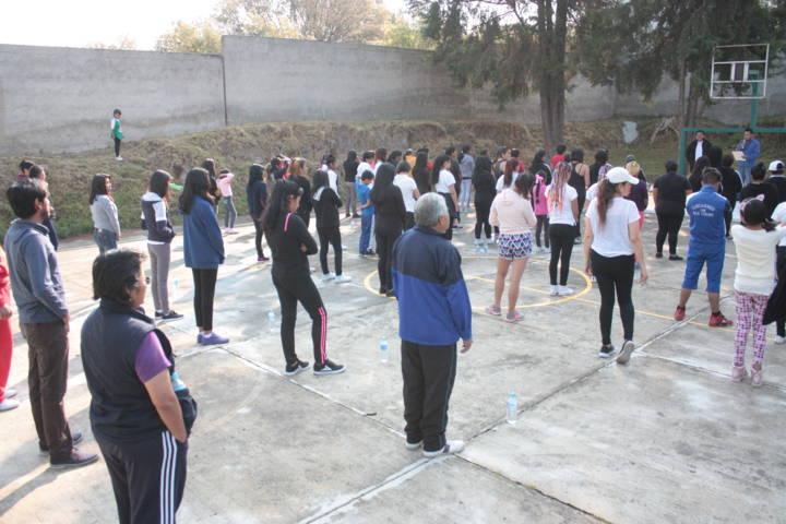 Celebran en San Pablo del Monte el Día Mundial de la Activación Física y el Deporte