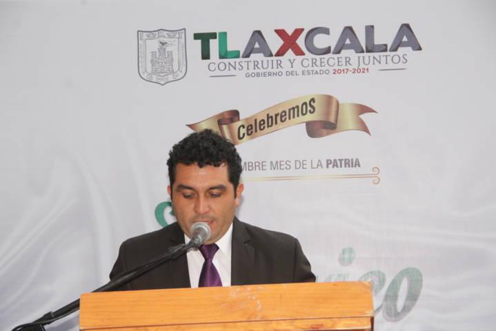 Alcalde preside Arrio en el CCVII Aniversario de la Independencia de México