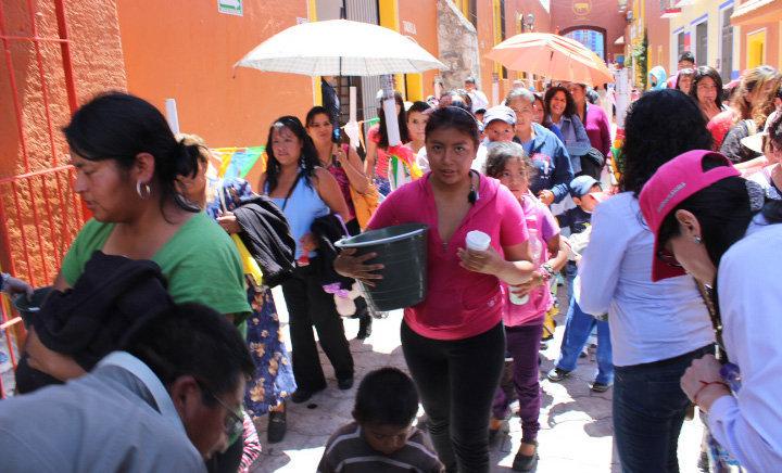 En Huamantla celebran a lo grande a las mamás en su día