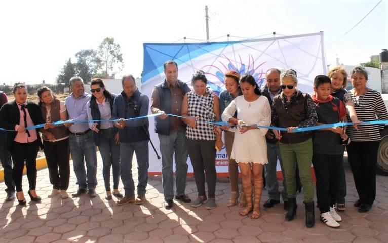 Con una inversión de 3.6 mdp adoquinamos la calle Zapata del Tetel: alcalde