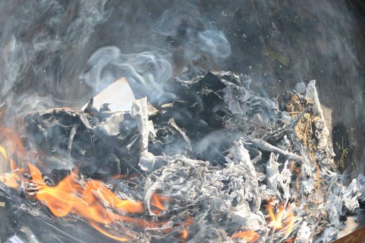 PGR Tlaxcala incinera droga
