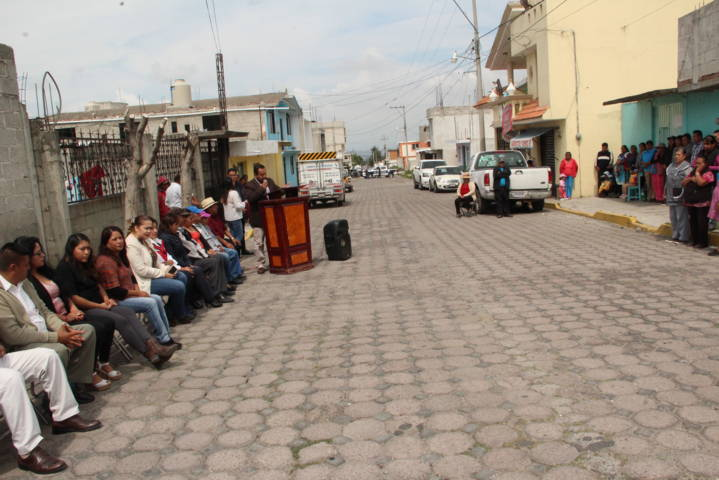 Alcalde mejora la imagen urbana de la Josefa Ortiz de Domínguez