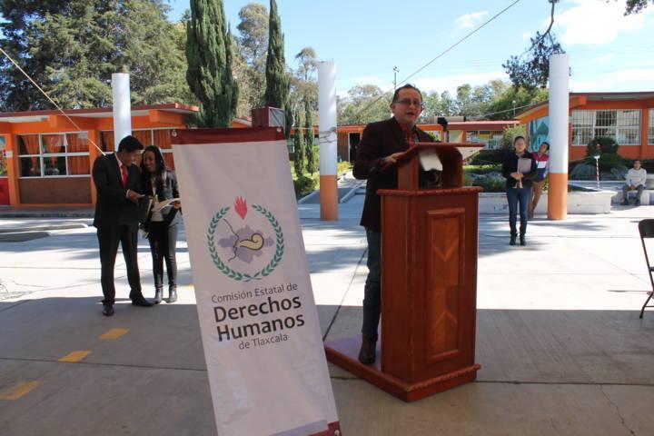 """Derechos Humanos de Tlaxcala certifica a 7 escuelas """"Libres de Bullying"""""""