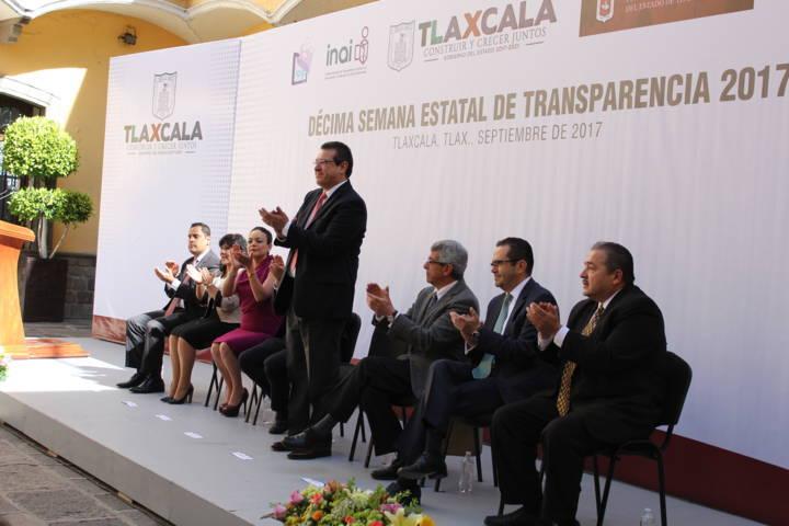 Se celebra la décima semana estatal de la transparencia