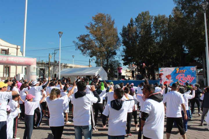 Exitoso Rally Por la Mujer y la Familia en Tetla