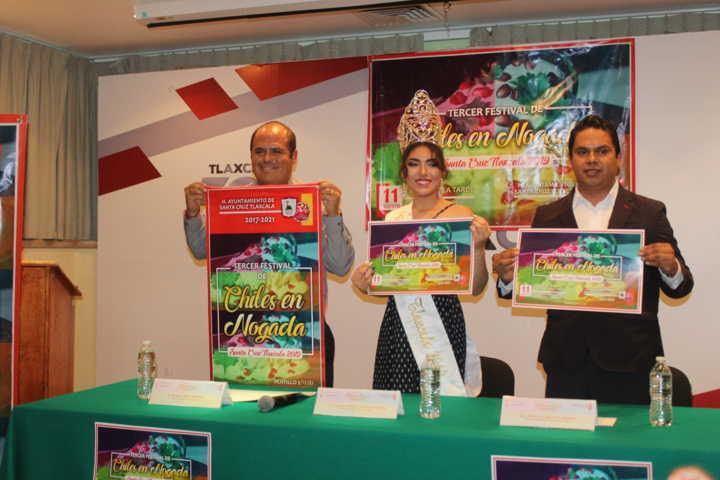 Este 11 de agosto llega el 3er Festival del Chile en Nogada: alcalde
