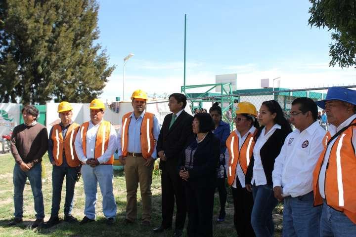 Obra eléctrica beneficiará a Cecyte 26 de Santa Cruz Tlaxcala