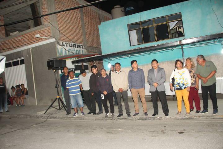 El cambio de luminarias en la calle Xicohténcatl refuerza la seguridad: RHH