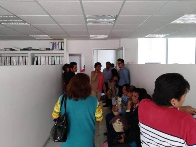 Reducción de alimentación a niños provoca movilización en la USET